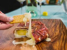Prosciutto-Wrapped Grilled Brie with Pineapple Recipe | Food Network Kitchen | Food Network