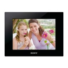 #5: Sony DPF-D810 8-Inch SVGA LCD (4:3) Digital Photo Frame (Black)