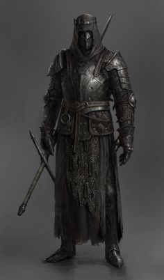 Fantasy Character Design, Character Design Inspiration, Character Art, Character Concept, Fantasy Armor, Dark Fantasy Art, Medieval Fantasy, Dungeons And Dragons Characters, Dnd Characters