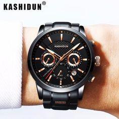 Luxury Sports Watches Waterproof Military Watch Men Casual Japanese Quartz Wristwatches Clock