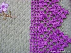 E hoje a gente vai de crochê tunisiano, que eu amo demais, já tava com saudade. And today we go to Tunisian crochet, which I love so much, I already missed doing it. Great night for all of yo Crochet Borders, Crochet Squares, Crochet Doilies, Crochet Flowers, Crochet Lace, Tunisian Crochet, Filet Crochet, Crochet Stitches, Diy Crafts Crochet