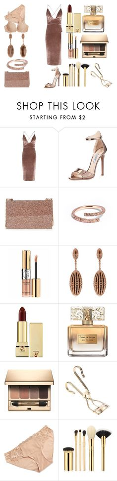 """Без названия #3484"" by southerncomfort ❤ liked on Polyvore featuring Boohoo, Prada, STELLA McCARTNEY, I+I, Yves Saint Laurent, Carla Amorim, Givenchy, Clarins, Simone Perele and tarte"