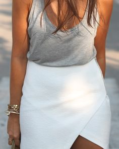 Top 10 Latest Casual Fashion Trends This Summer Lovely soft colors and details. The Best of street fashion in Looks Chic, Looks Style, Style Me, Passion For Fashion, Love Fashion, Fashion Women, Fashion Trends, Top Y Pollera, Summer Outfits