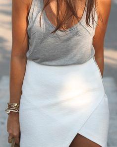 Basics Whites: a nice easy yet fashionable style