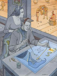 Le Papier Génial, Moebius (2007)