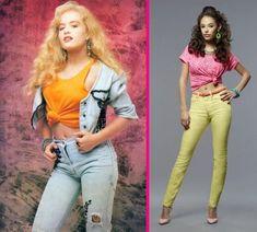 Como eram as Roupas dos anos 80 Moda, Looks, Estilo Cabelos   Toda Atual