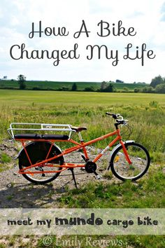 The Story Of How A Bike Changed My Life - Mundo cargo bike review #ecofriendly #gogreen