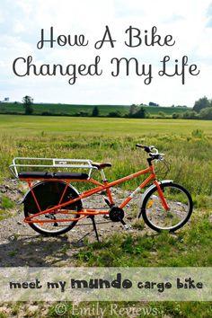 The Story Of How A Bike Changed My Life - Mundo cargo bike review #ecofriendly #gogreen