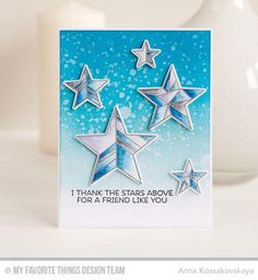 My Favorite Things - Clear Stamp Set - LJD Stars Above – TupeloDesignsLLC