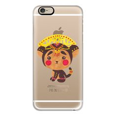 iPhone 6 Plus/6/5/5s/5c Case - The Little Monkey King (Transparent) ($40) ❤ liked on Polyvore featuring accessories, tech accessories, iphone case, transparent iphone case, slim iphone case, iphone cover case and apple iphone cases