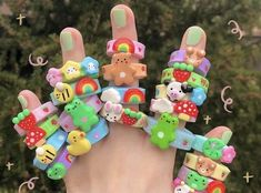 Tipy a nápady z fimo hmoty. Fimo Ring, Polymer Clay Ring, Diy Crafts Jewelry, Fun Diy Crafts, Diy Clay Rings, Clay Art Projects, Cute Clay, Clay Creations, Indie
