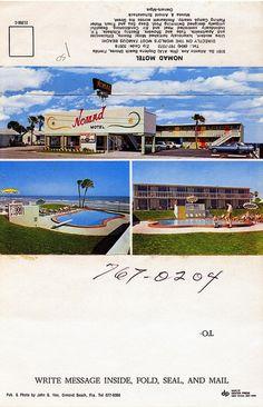 Nomad Motel Daytona Beach FL by Edge and corner wear, via Flickr