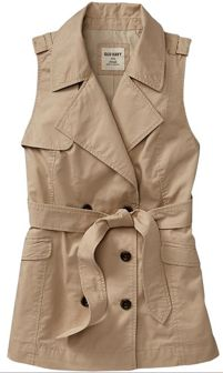 Old Navy Sleeveless Trench