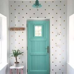 Hall Redecorate project from Joanne Condon of Kyle Lane, An Upcycling expert…
