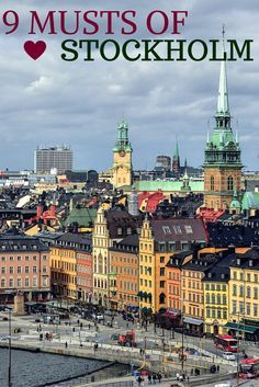 9 Musts of Stockholm