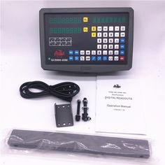 (200.63$)  Watch now  - Free Shipping 2 Axis Digitial Readout DRO kit GCS900-2D Digital Display & Linear Scale Linear Encoder For Lathe Milling Machine