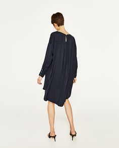 TUNIC WITH BUTTONED CUFFS-DRESSES-WOMAN | ZARA United States