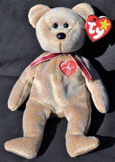 Ty Beanie Babies - 1999 Signature Bear - NWT - Mint w Errors    866e27e292