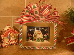 Sweet Treats Frame by kristenscreations on Etsy, $26.00