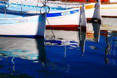Bateaux dans le vieux port de Marseille, août 2015. Photo prise Valérie Coutrot