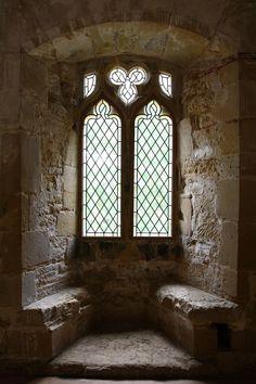 Castle Window - Battle Abbey by NickiStock.deviantart.com on @deviantART