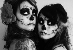 black and white FACE PAINT - Bing Images