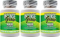 Long Hair Growth Vitamins - Intense Grow 3-Pack by Intense Grow, http ...