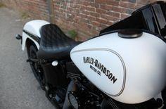 Custom Harley Softail built by Joe Carrillo @ The Motor Gallery www.themotorgalleryhd.com Harley Softail, Custom Harleys, Harley Davidson, Motorcycle, Gallery, Vehicles, Motors, Roof Rack, Motorcycles