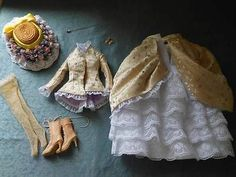 Ellowyne Wilde Outfit Silk Lace Victorian Ensemble with Wig and Shoes   eBay. This set sold for $316.94 on 5/10/14.