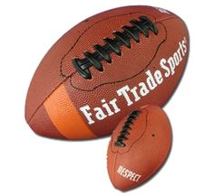 I could get behind a fair-trade US football. Not to be confused with an actual football. ;)