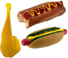Duke's Meat Lovers Squeaking Dog Toy Case Pack 12