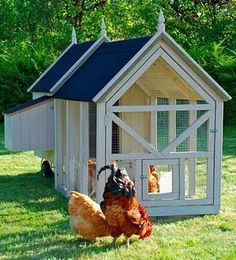 I want this chicken coop. :)