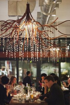 Boehmer; Toronto venue - like the hanging ceiling piece
