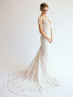 View entire slideshow: Elegant + Sexy Wedding Dresses on http://www.stylemepretty.com/collection/2355/