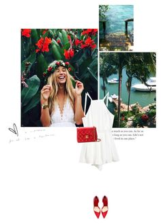 """""""Happy Summer."""" by kaliam ❤ liked on Polyvore featuring Chanel, women's clothing, women, female, woman, misses and juniors"""
