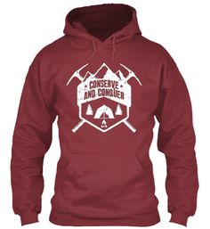 Conserve and conquer - Hoodie