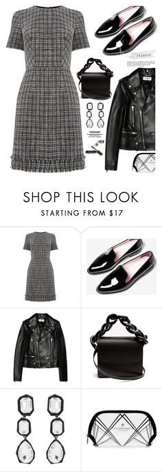 """""""Outfit of the day"""" by hamaly ❤ liked on Polyvore featuring Warehouse, Everlane, Yves Saint Laurent, Marques'Almeida, AMBUSH, Illamasqua, Bobbi Brown Cosmetics, Anja, Winter and outfit"""