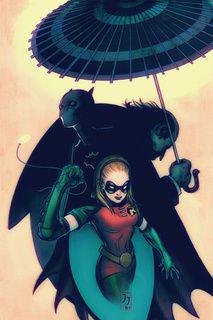 Robin IV Stephanie Brown, Batgirl II Cassandra Cain & Penguin by James Jean Dc Batgirl, Batgirl And Robin, Batman Robin, Batwoman, Nightwing, Batman Art, Batman Comics, James Jeans, Stephanie Brown