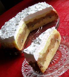 Torta sa lješnjacima i jabukama Torte Recepti, Kolaci I Torte, Sweet Cooking, Serbian Recipes, Torte Cake, Sweet Cakes, Let Them Eat Cake, Tart, Cheesecake