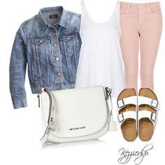 Topshop Moto dusky pink jeans