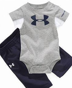 Under Armour Baby Set, Baby Boys Logo Bodysuit and PantsDADDYS Future Fishing Buddy Baby Clothes, Bodysuit,…Funny baby clothes newborn baby clothes me and mommy brokeBoys Fashion Cool Baby, Baby Kind, Baby Outfits, Nike Outfits, Baby Set, Baby Boy Fashion, Kids Fashion, My Bebe, Clothing Logo