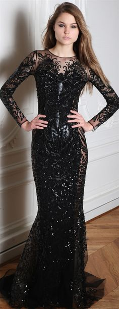 Zuhair Murad Fall/Winter 2014 RTW ~Latest Trendy Luxurious Women's Fashion - Haute Couture - dresses, jackets, bags, jewelry, shoes etc. Zuhair Murad, Beautiful Gowns, Beautiful Outfits, Elegant Dresses, Pretty Dresses, Couture Dresses, Fashion Dresses, Lesage, Glamour