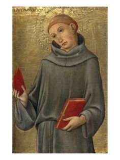 Saint Anthony of Padua | Sano di Pietro (1406–1481) was an Italian painter of the Sienese school of painting.