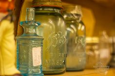 Old Ball Mason jars...