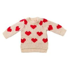 Fox and Finch DAmour Heart Jumpers