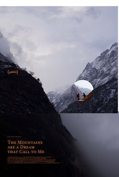 High resolution official theatrical movie poster for The Mountains Are a Dream that Call to Me Image dimensions: 1350 x New Movie Posters, Love Posters, Beautiful Posters, Movie Titles, Film Posters, I Movie, Buy Movies, 2020 Movies, Film Poster Design