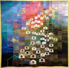 Nostalgia by Yoko Ueda, 2013 Tokyo International Great Quilt Festival.  Photo by SewBlossomHeart via Flickr
