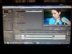 Día 11: Lo que hice hoy (What I did today). #FMSPhotoADay  Edité un video nuevo (I edited a new video)