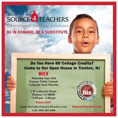 Trenton! Join us for Source4Teachers' Open House on 9/26 at Lafayette Yard Marriott! RSVP now!