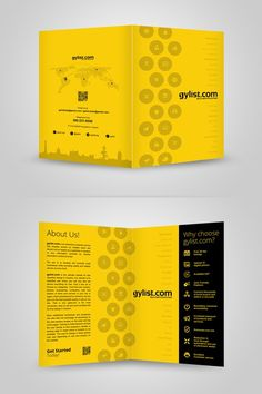 Simple Brochure for Classified website by Adwindesign